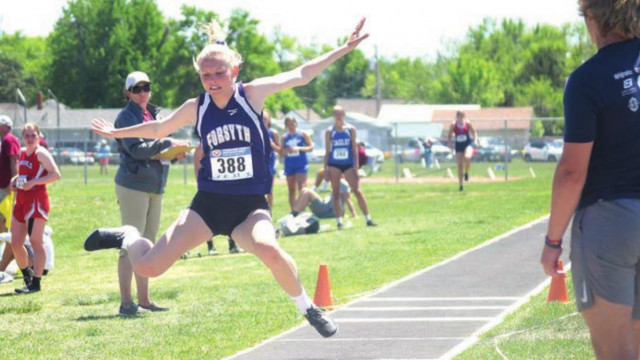 Lady Dogies compete at state track meet